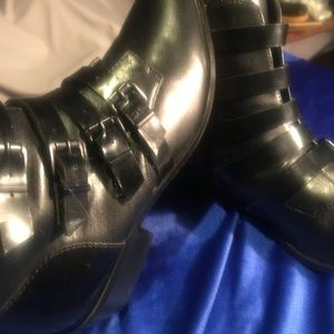 Forever 21 Buckle Boots